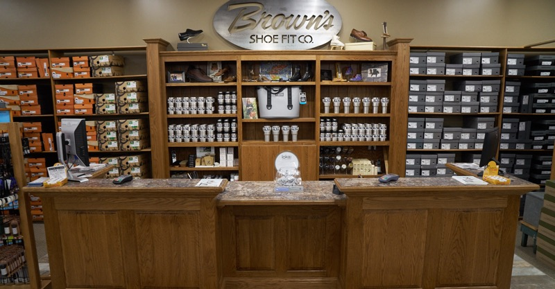 Fort Dodge store check out counter photo