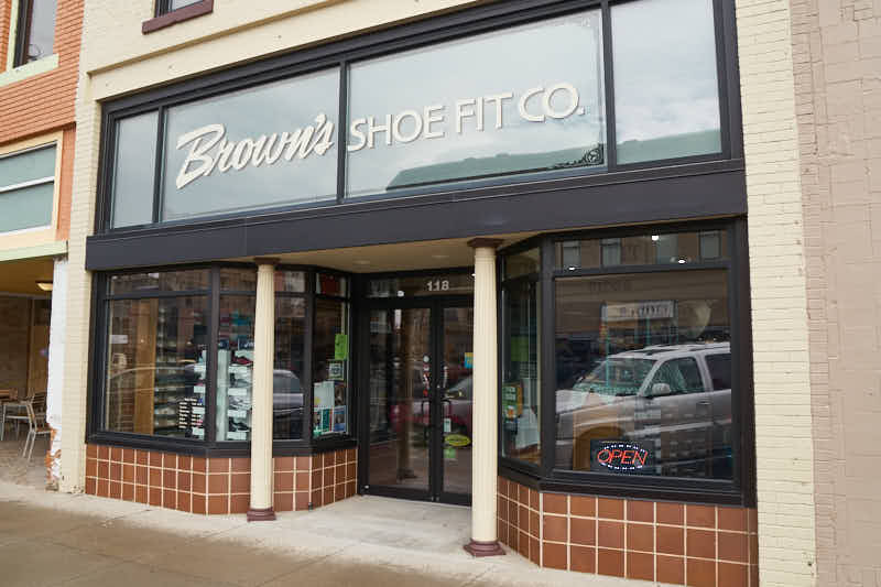 Brown S Shoe Store In Liberal Ks